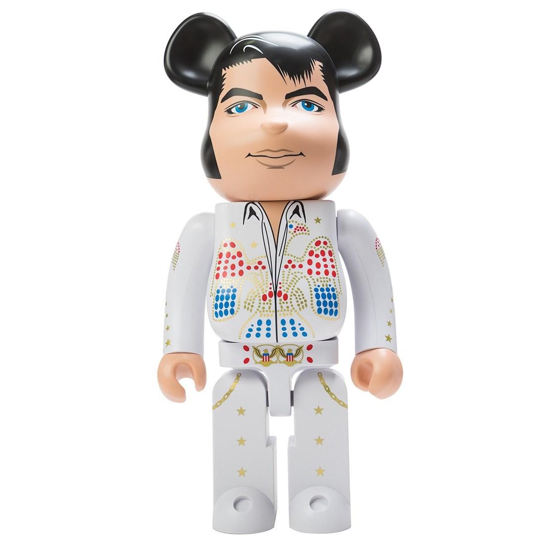 Medicom Elvis Presley 1000% Bearbrick Figure (white)