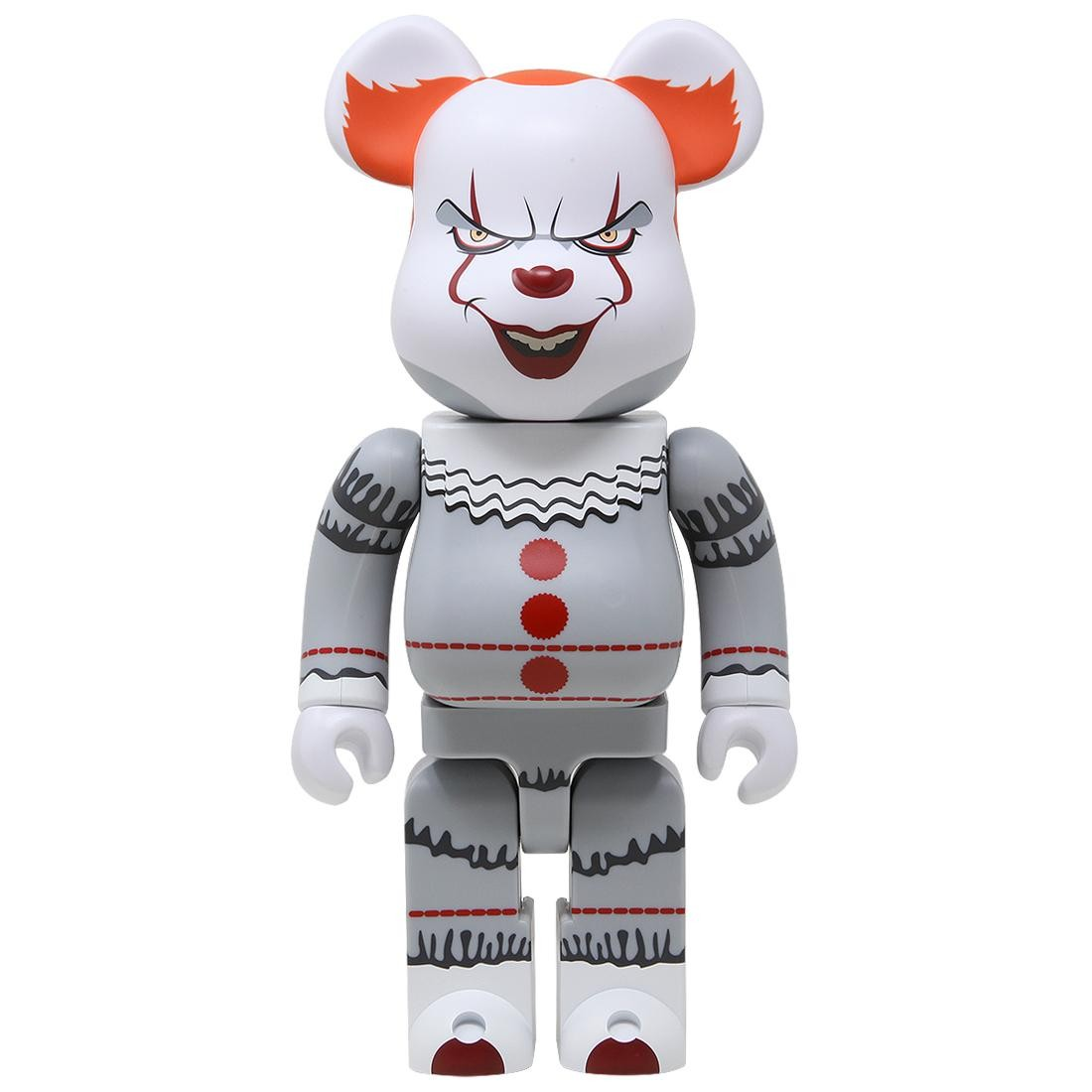 Medicom It Pennywise 400% Bearbrick Figure (white)