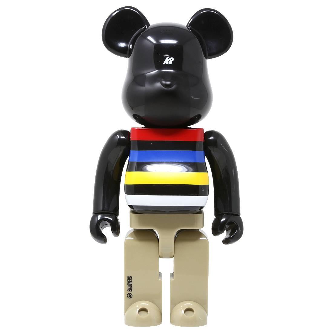 Medicom K2 Sports 400% Bearbrick Figure (black)