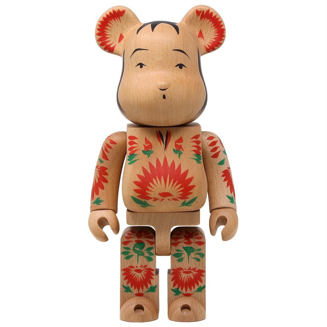 Medicom Karimoku Kokeburick 400% Bearbrick Figure (tan)