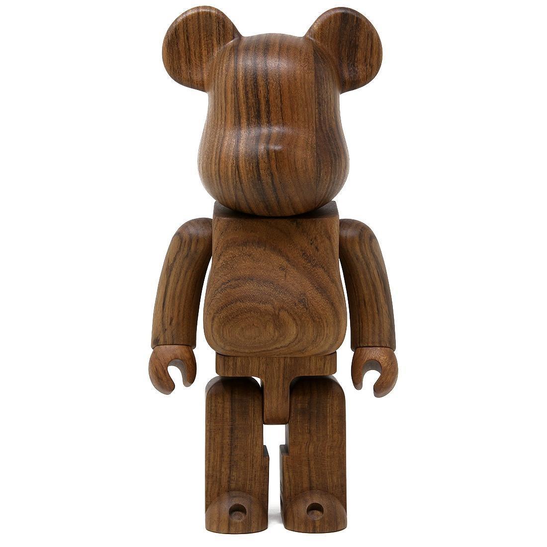 Medicom Karimoku Ovangkol 400% Bearbrick Figure (brown)