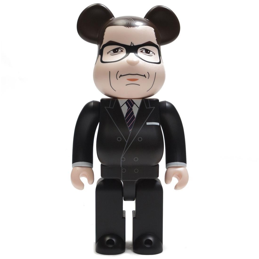 Medicom Kingsman The Secret Service Harry Galahad Hart 400% Bearbrick Figure (black)