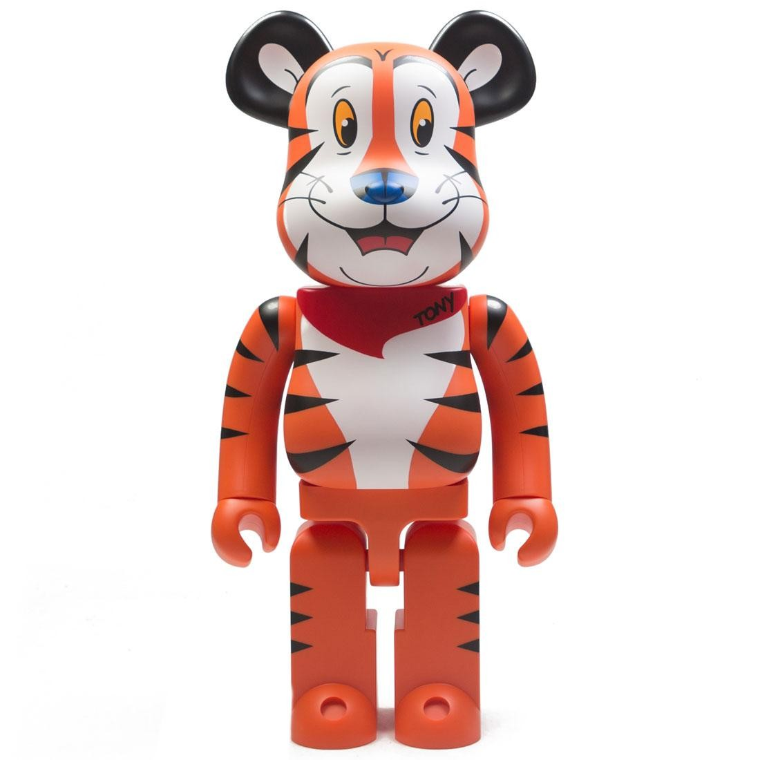 Medicom Kellogg's Tony The Tiger 1000% Bearbrick Figure (orange)