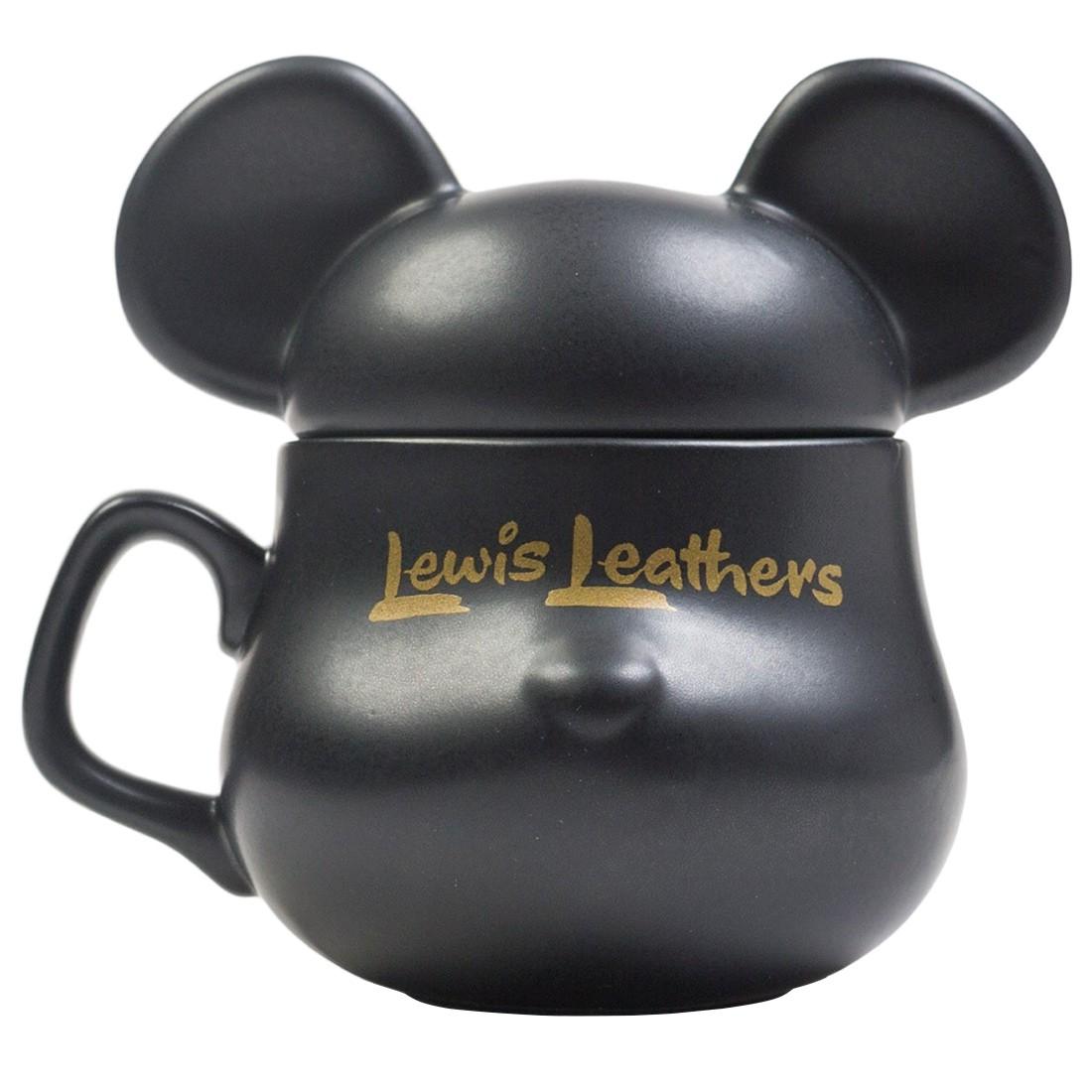 Medicom Lewis Leather Bearbrick Be@rmug (black)