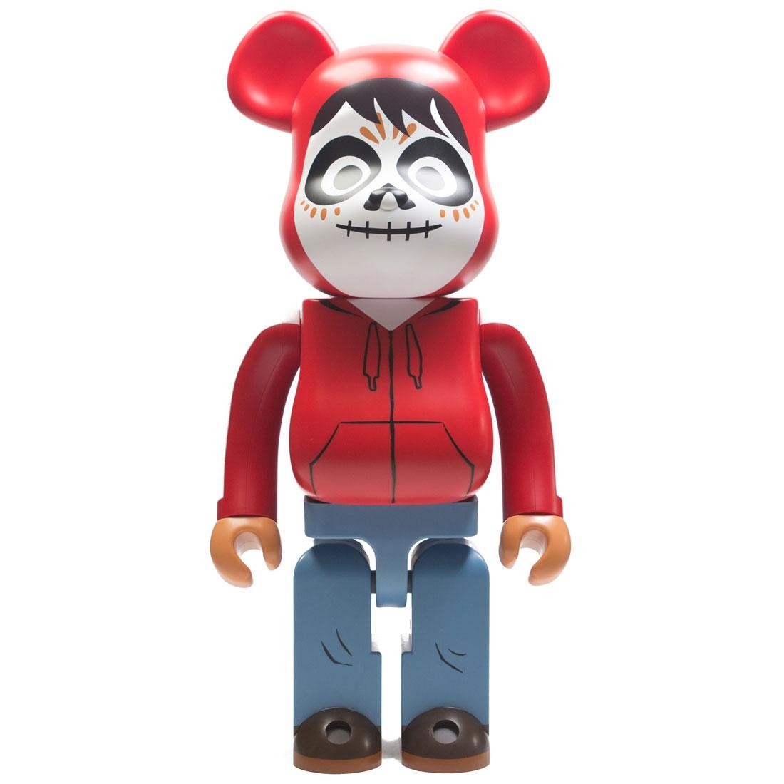Medicom Miguel 1000% Bearbrick Figure (red)