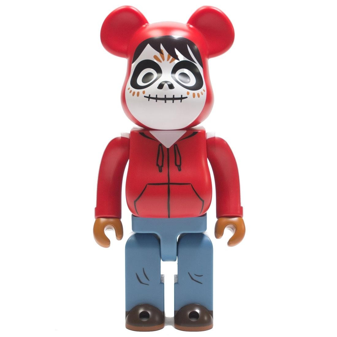 Medicom Miguel 400% Bearbrick Figure (red)