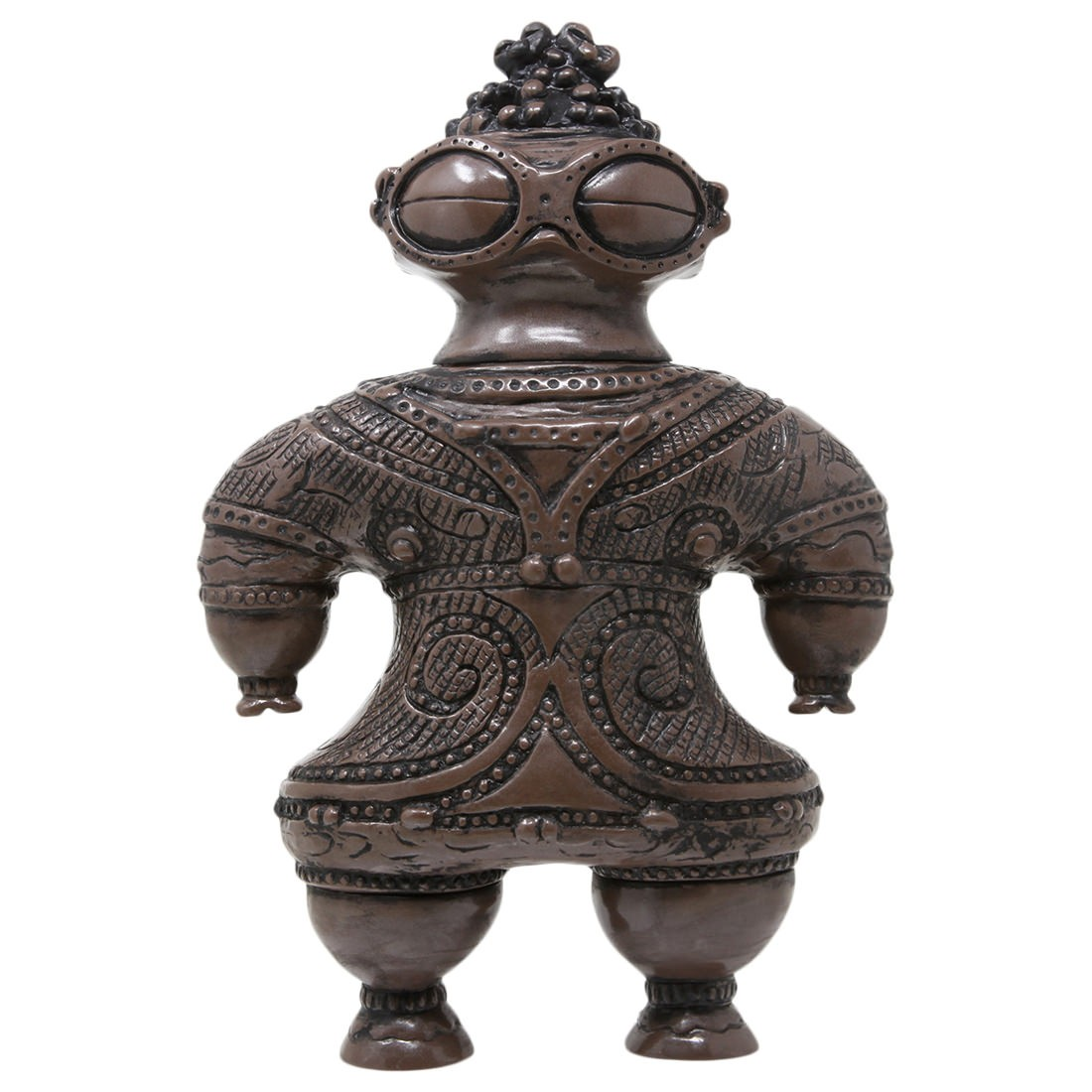 Medicom Marmit Shakoki-Dogu Sofubi Figure (brown)