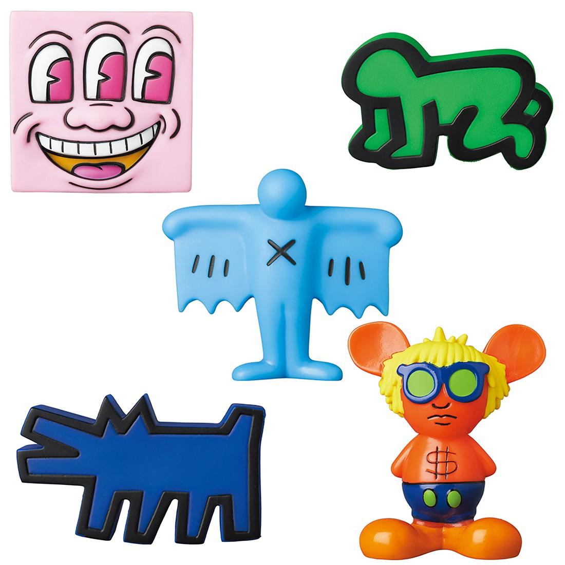 Medicom Mini VCD Keith Haring #2 Figure - 1 Blind Box