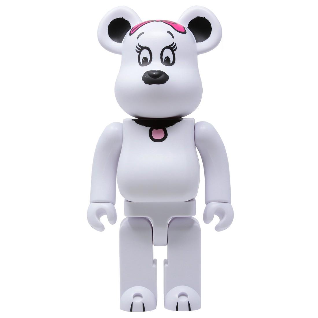 Medicom Peanuts Belle 400% Bearbrick Figure (white)