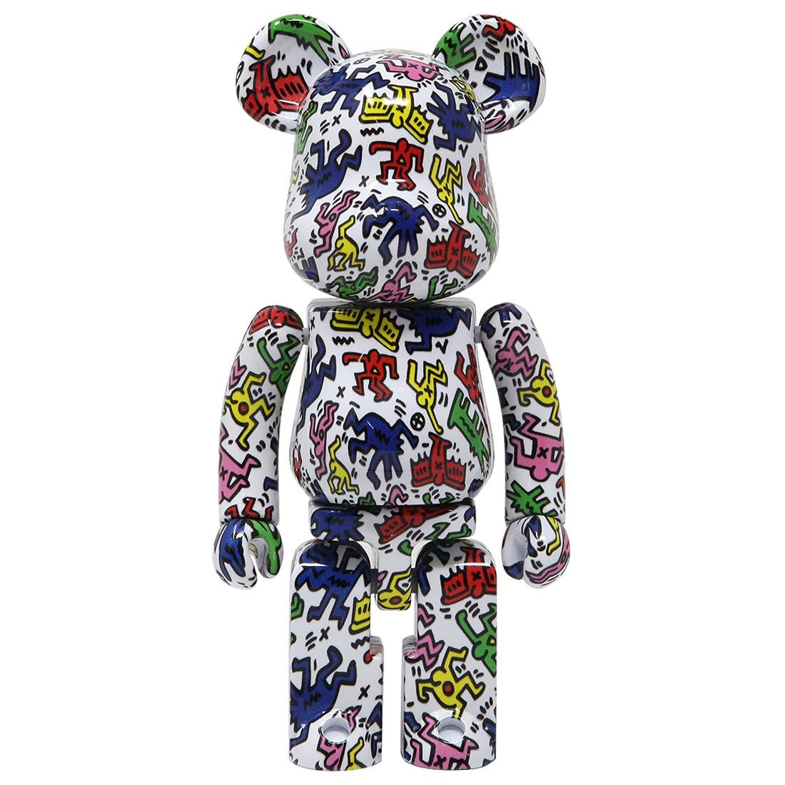 Medicom Super Alloyed Keith Haring 200% Bearbrick Figure (multi)