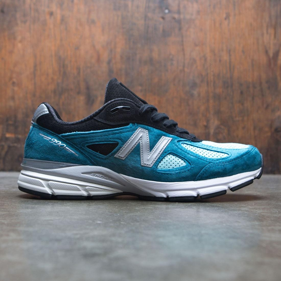 online store 008b0 5b94b New Balance Men 990v4 M990DM4 - Made In USA (blue / moroccan blue / dark  cyan)