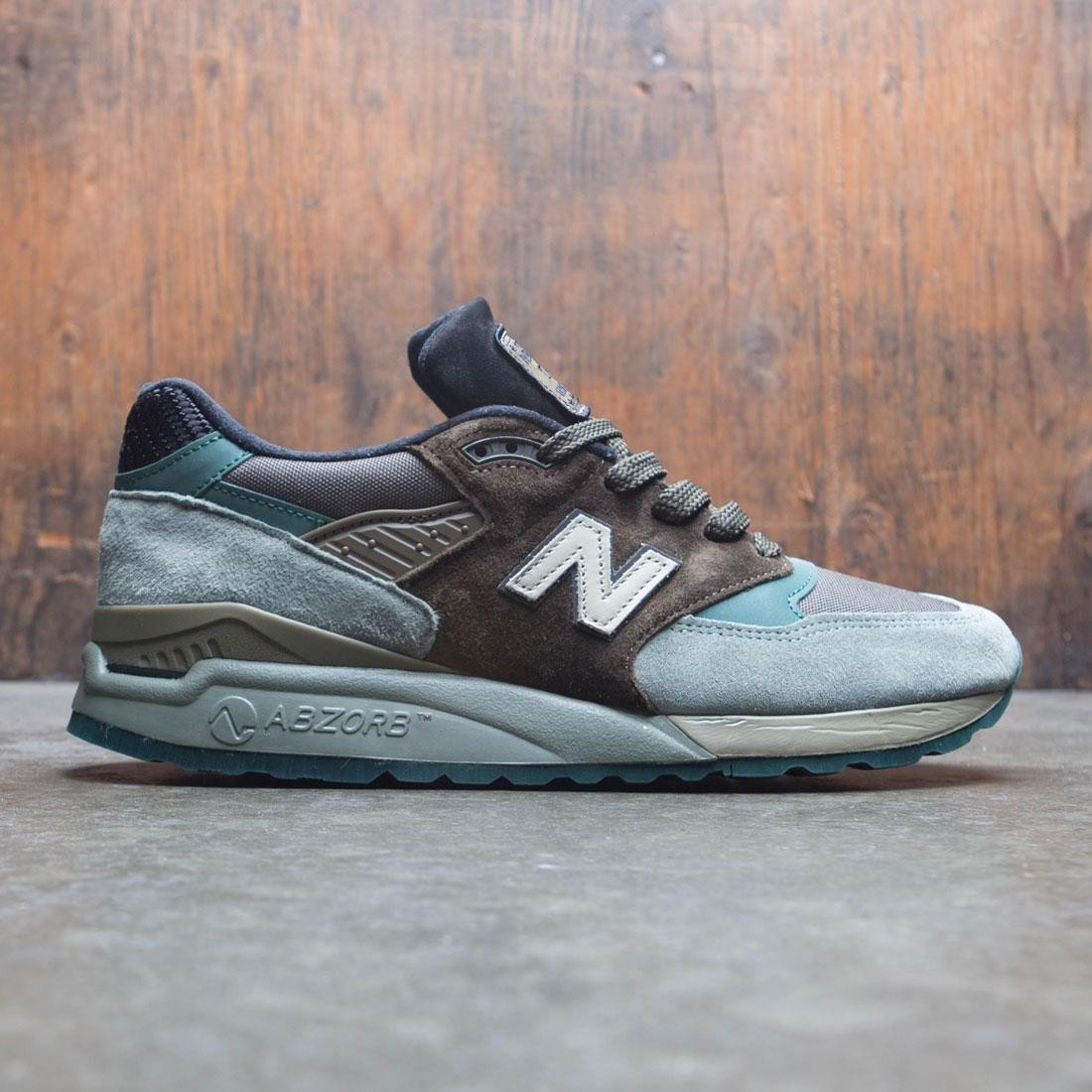 timeless design 5f6c2 84849 New Balance Men 998 M998AWA - Made In USA (brown / grey)
