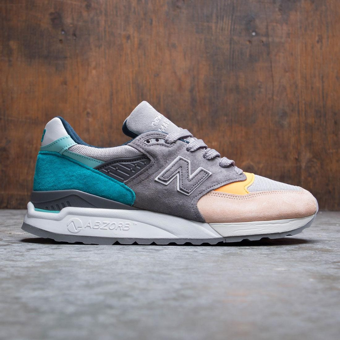 e3ea1da7b New Balance Men 998 M998AWB - Made In USA gray blue