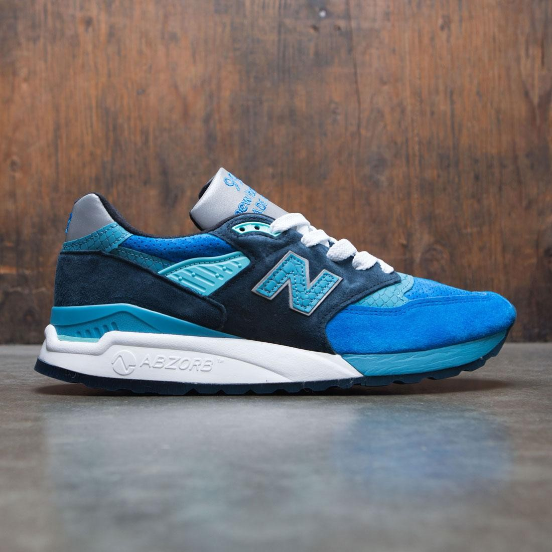 a236c8d3e New Balance Men 998 M998NE - Made In USA blue silver