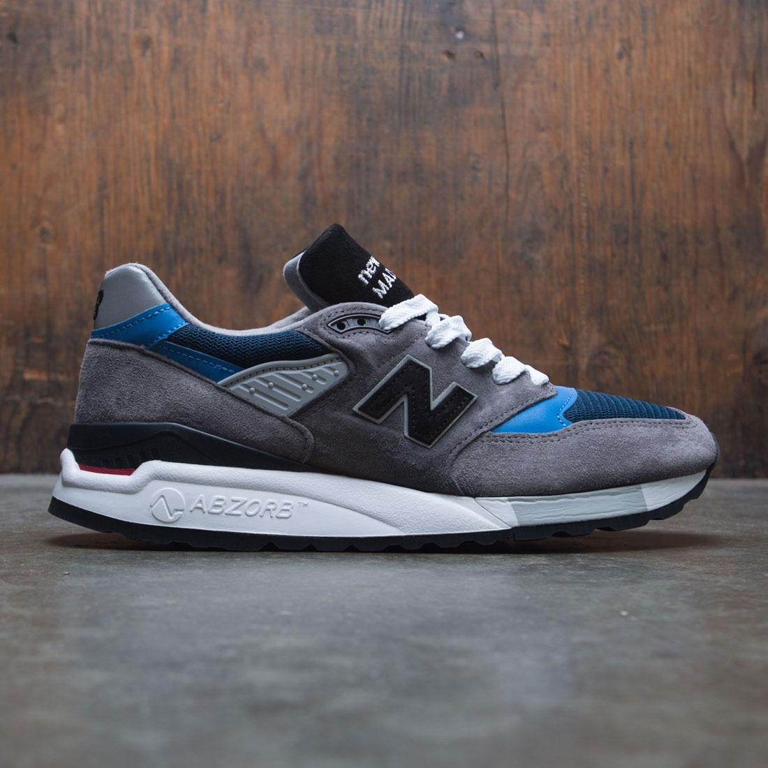 buy online 0f59d 66bb2 New Balance Men 998 M998NF - Made In USA (gray / blue)