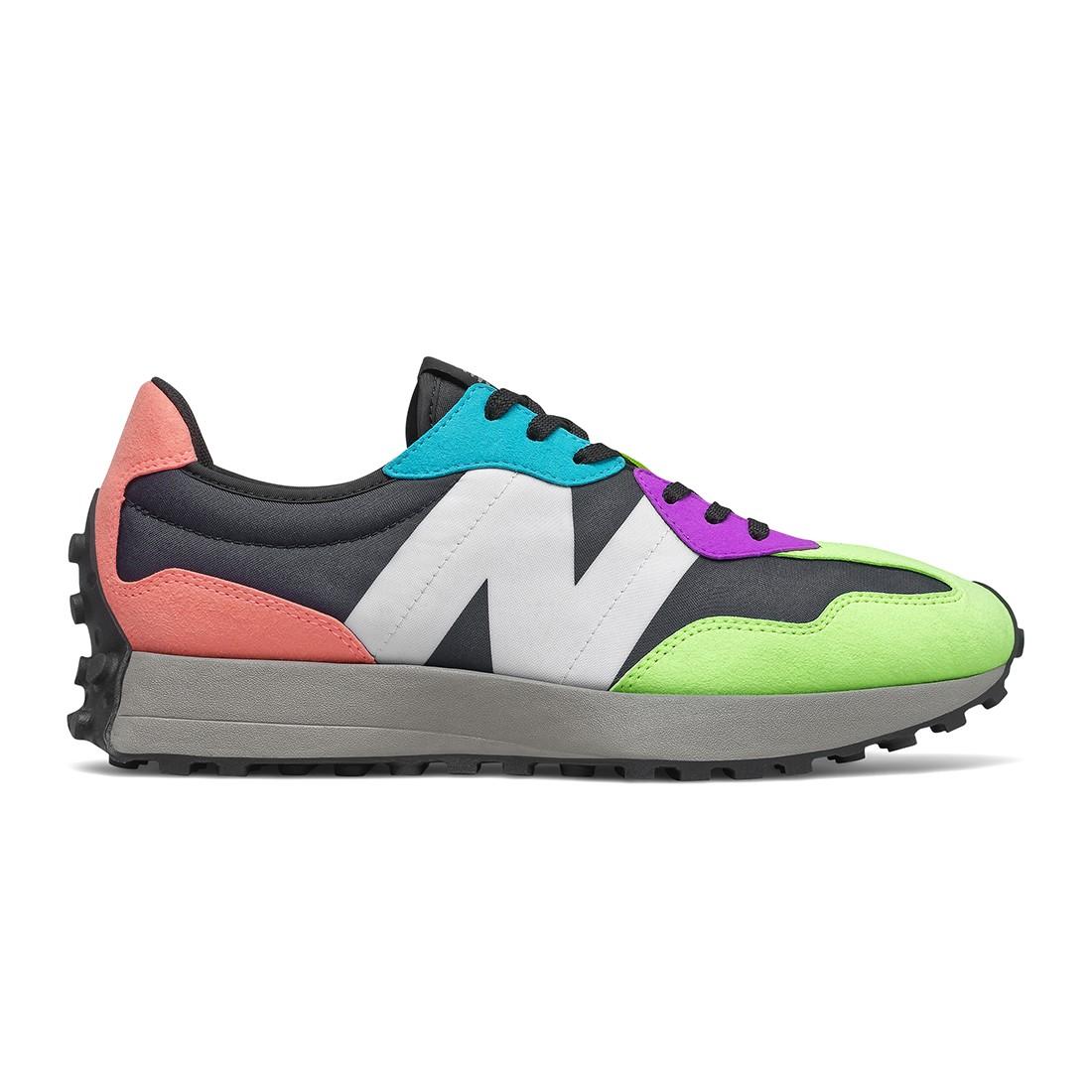 New Balance Men 327 MS327EA (multi / paradise pink / black)