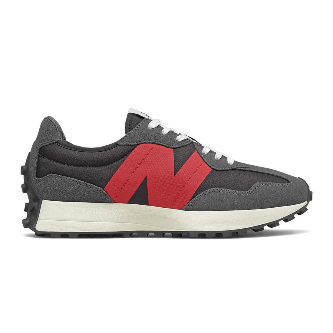 New Balance Men 327 MS327FF (gray / magnet / team red)