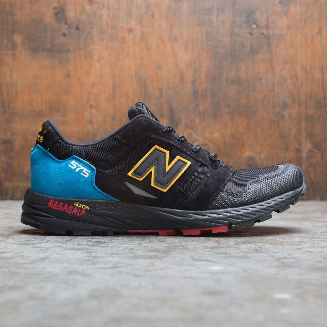 mode designer 1db62 d36af New Balance Men 575 MTL575UT - Made In UK (black / bright blue)