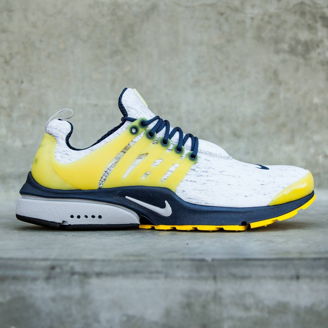 how to buy best supplier newest collection Nike Men Air Presto (gray / zen grey / midnight navy / varsity maize)