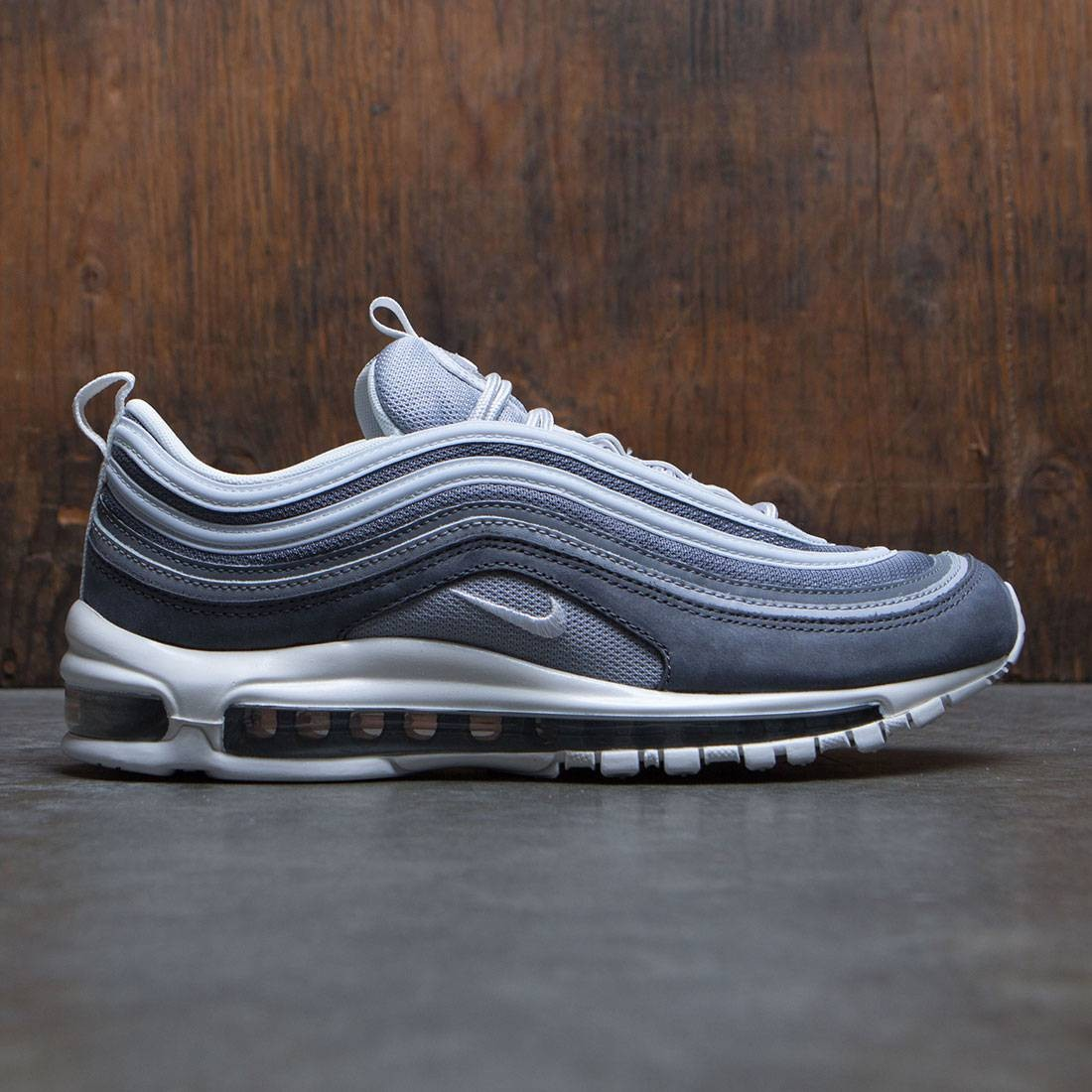 d9823cf2 Nike Men Air Max 97 Premium QS wolf grey summit white-dark grey