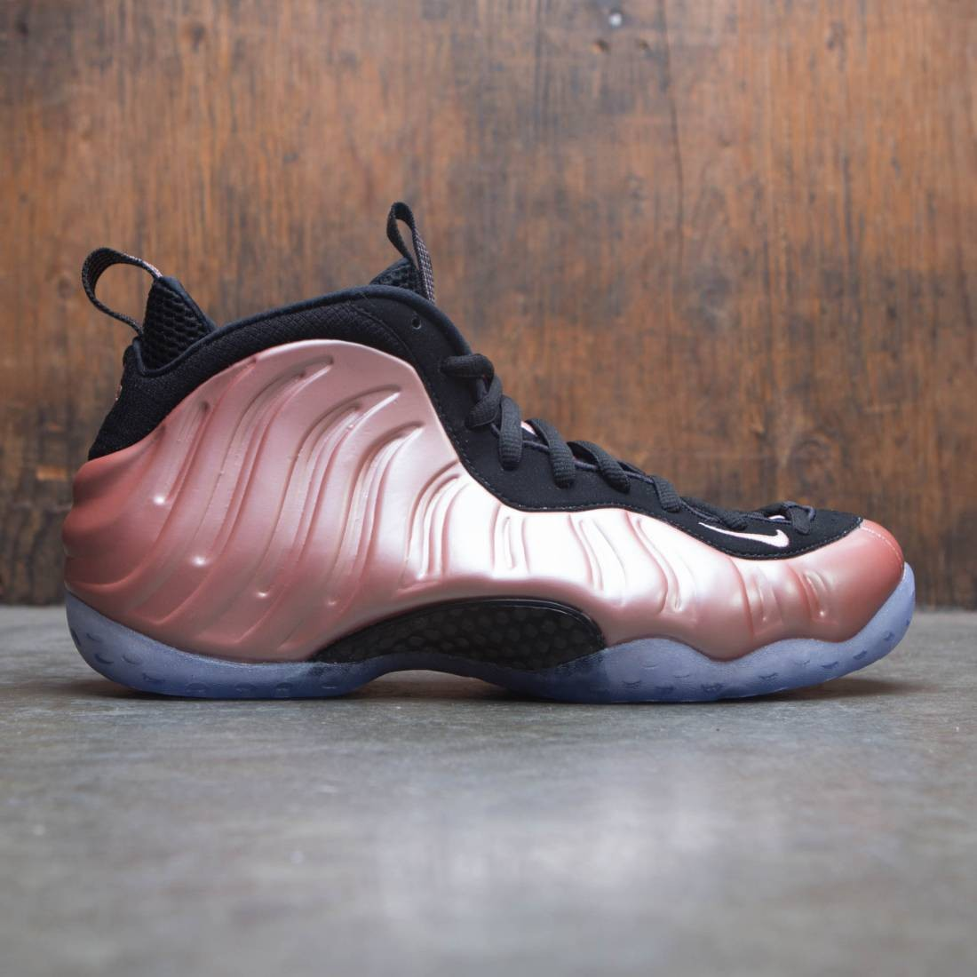 bd55fc30f6637 nike men air foamposite 1 rust pink white black