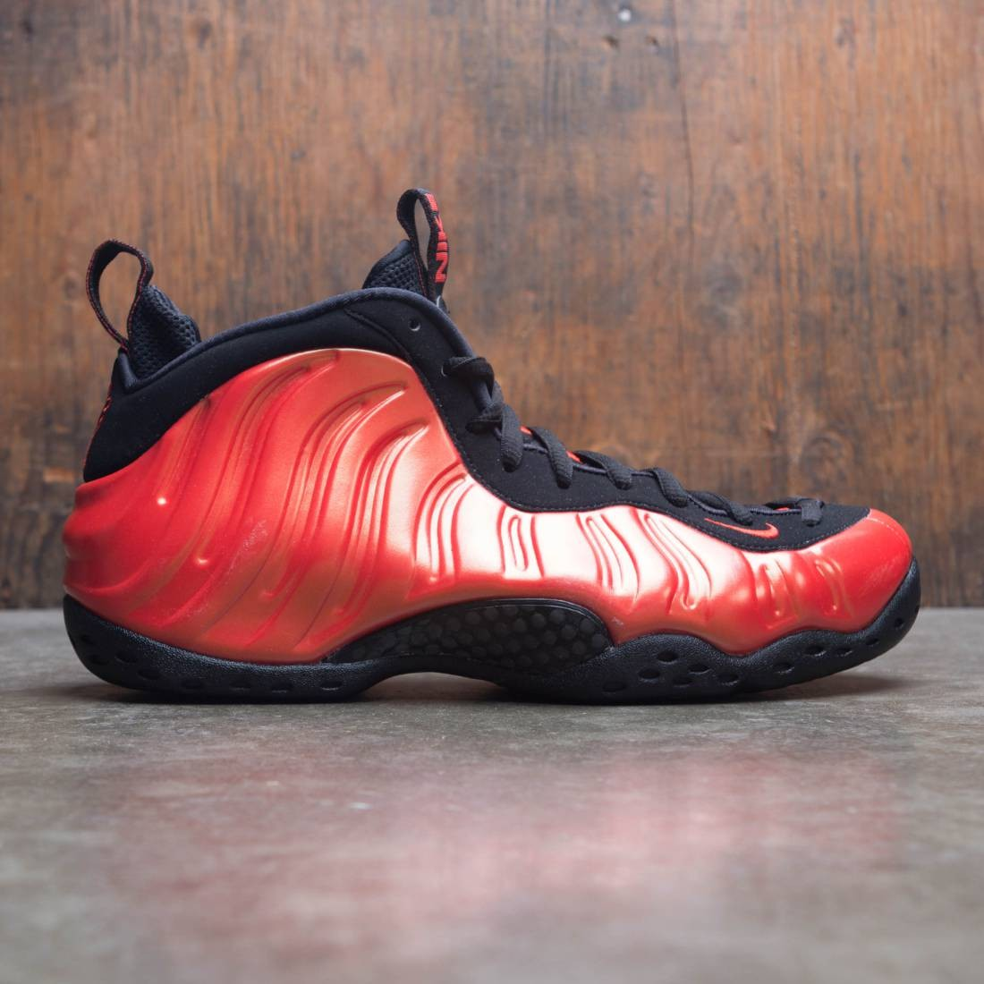 Nike Men Air Foamposite 1 (habanero red / habanero red-black)