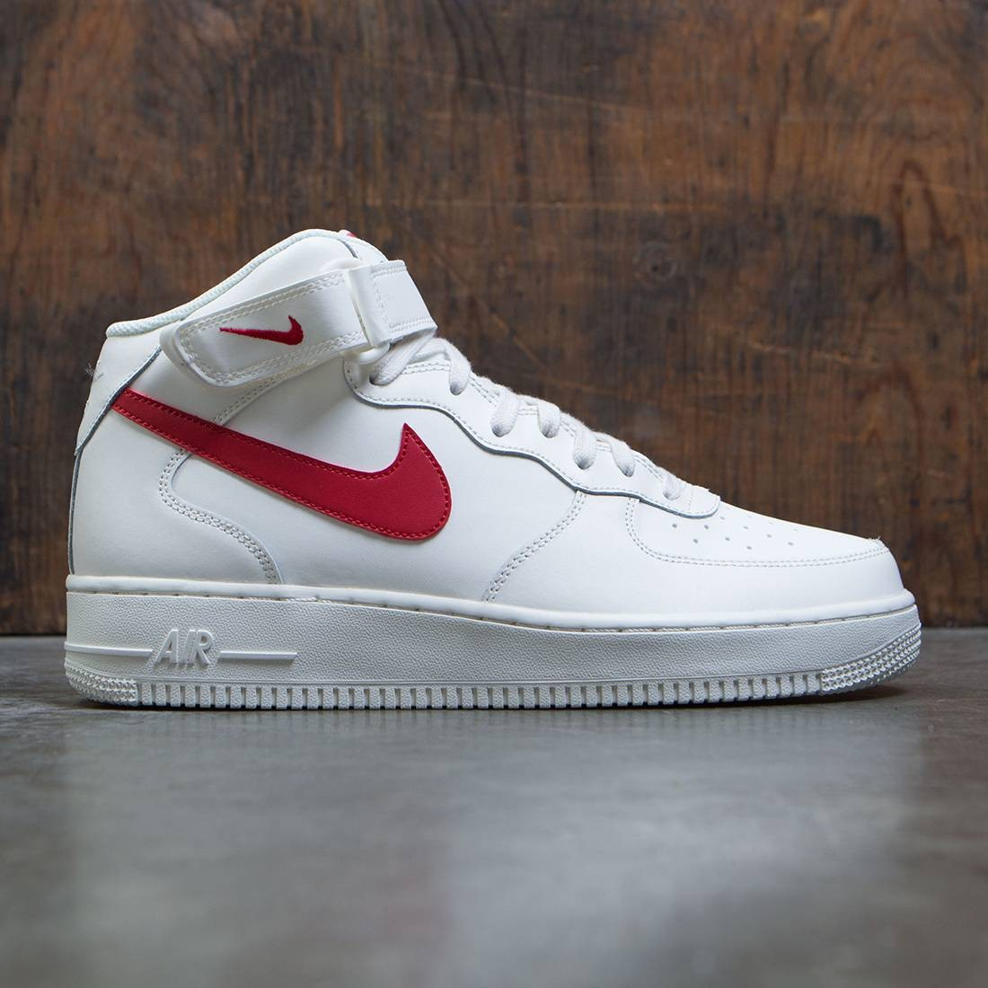 online store 22003 8fb89 nike men air force 1 mid 07 sail university red