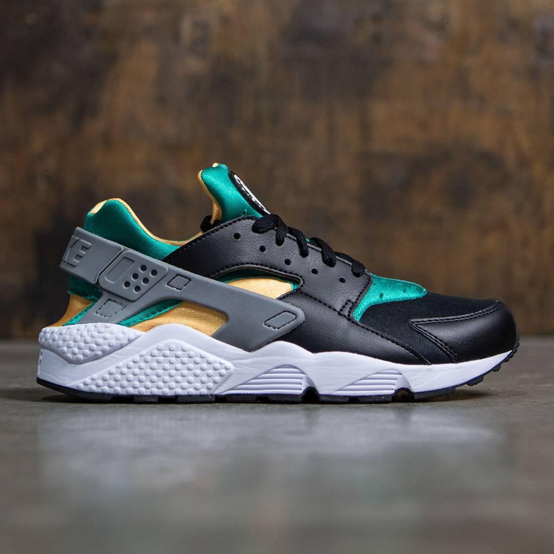 a708c08a90e2 Nike Men Air Huarache (black   white-emerald-resin)