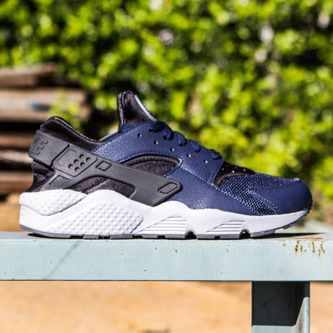nike men air huarache navy  midnight navy dark ash cool grey midnight navy