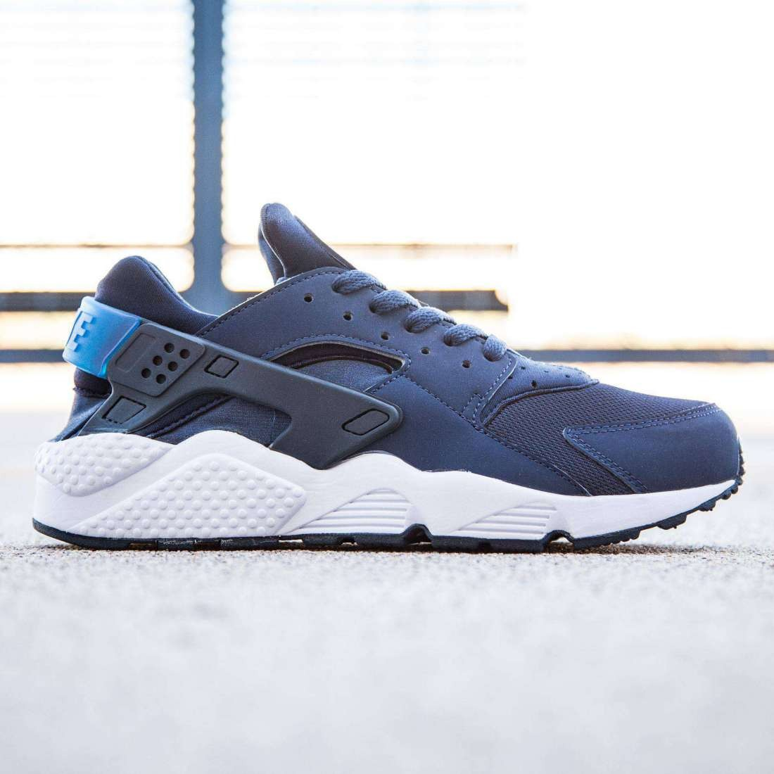 9a4c859f043a Nike Men Air Huarache (navy   midnight navy   obsidian   gym blue)