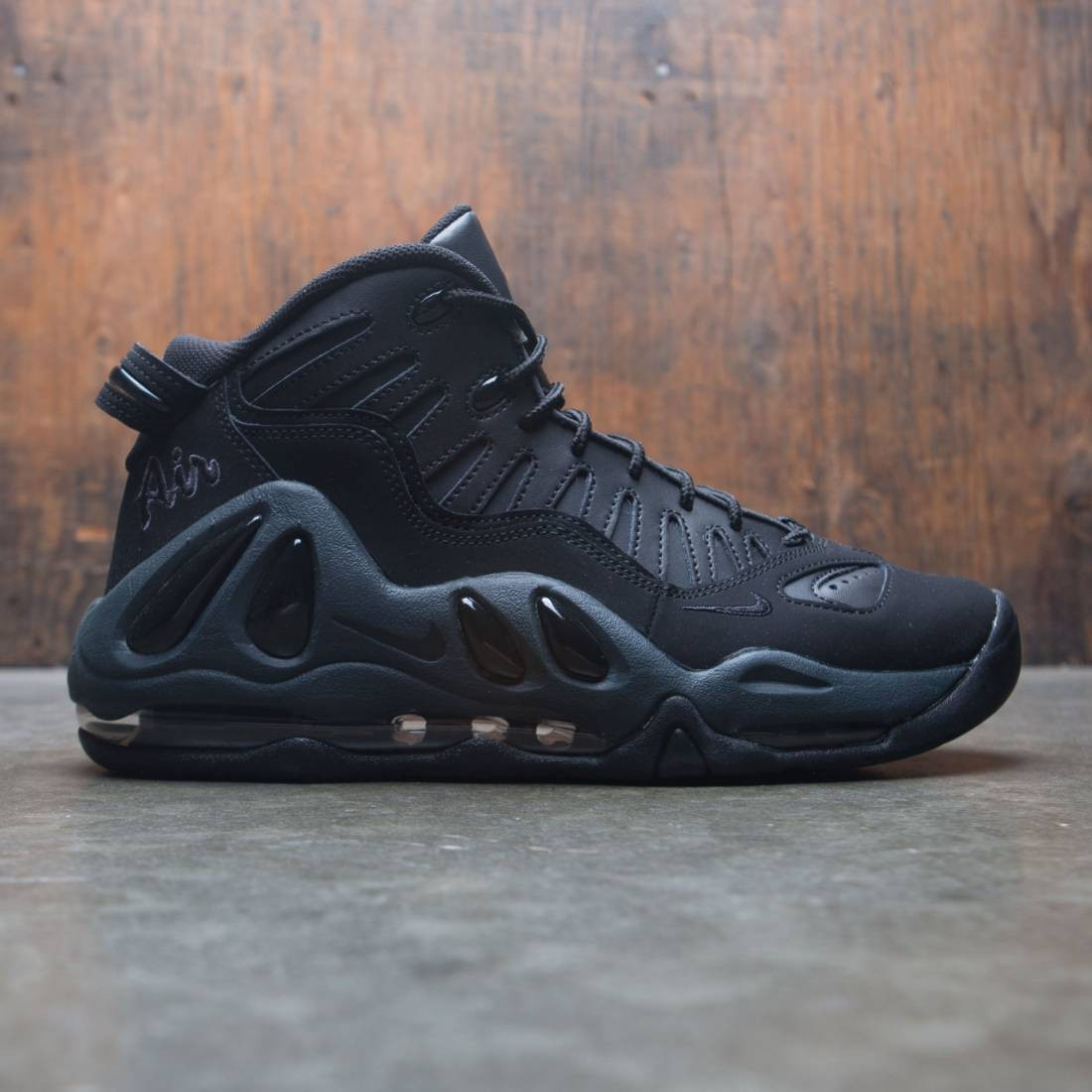 cheap for discount 8d3f9 f70ef nike men air max uptempo 97 black black anthracite black