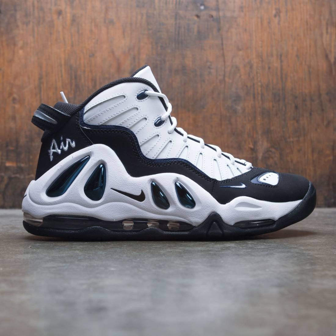 hot sale online aba6b 0ff59 Nike Men Air Max Uptempo 97 white black college navy