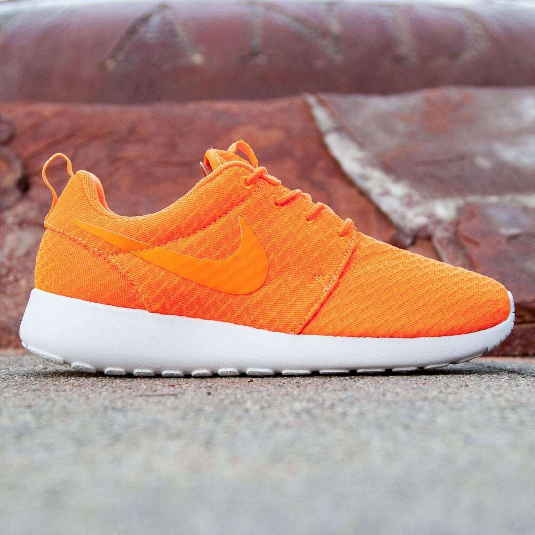 26d39c553acf Nike Women Roshe One orange total orange white