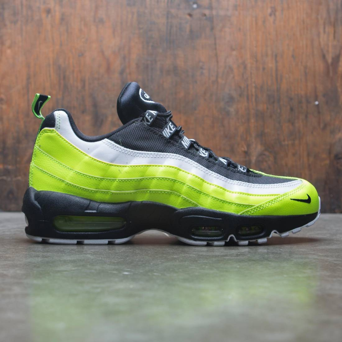 on sale 913b3 23a3a Nike Men Air Max 95 Premium (volt / black-volt glow-barely volt)