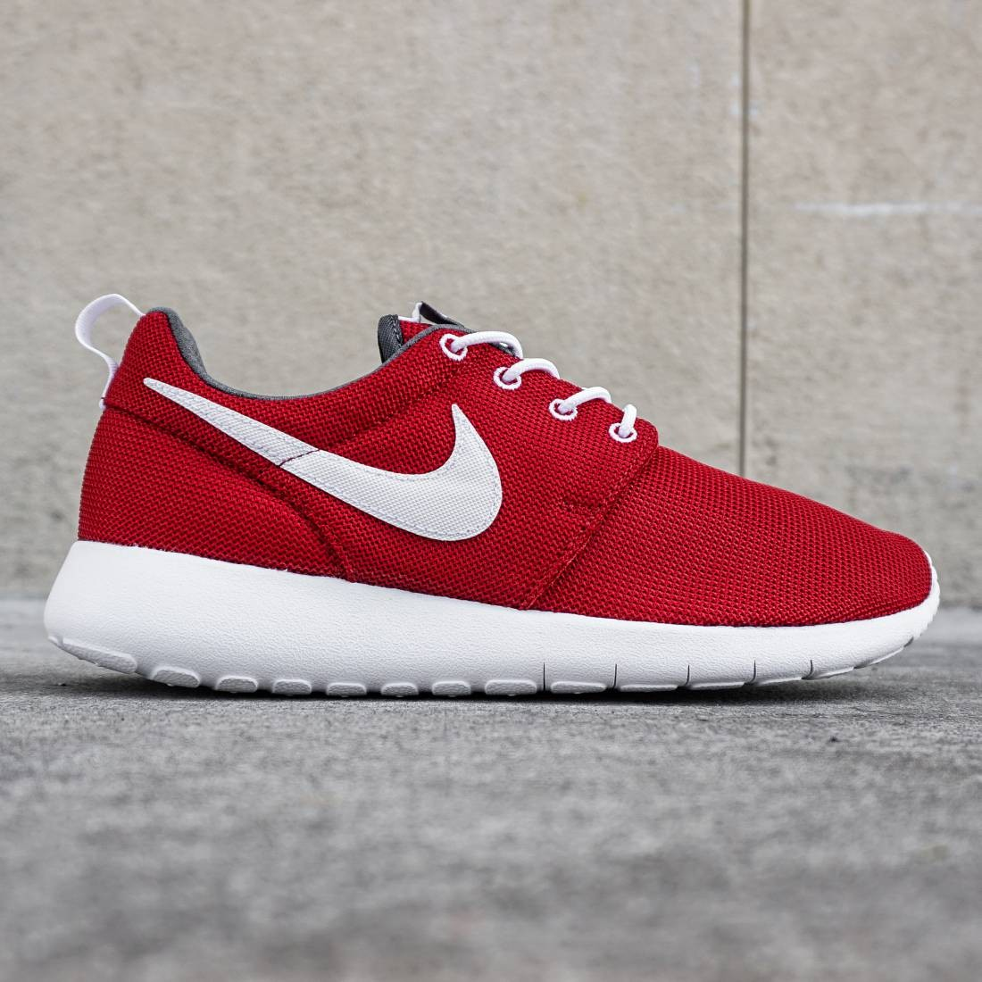 a122c517268 Nike Big Kids Roshe One GS (red   gym red   white   dark gray)