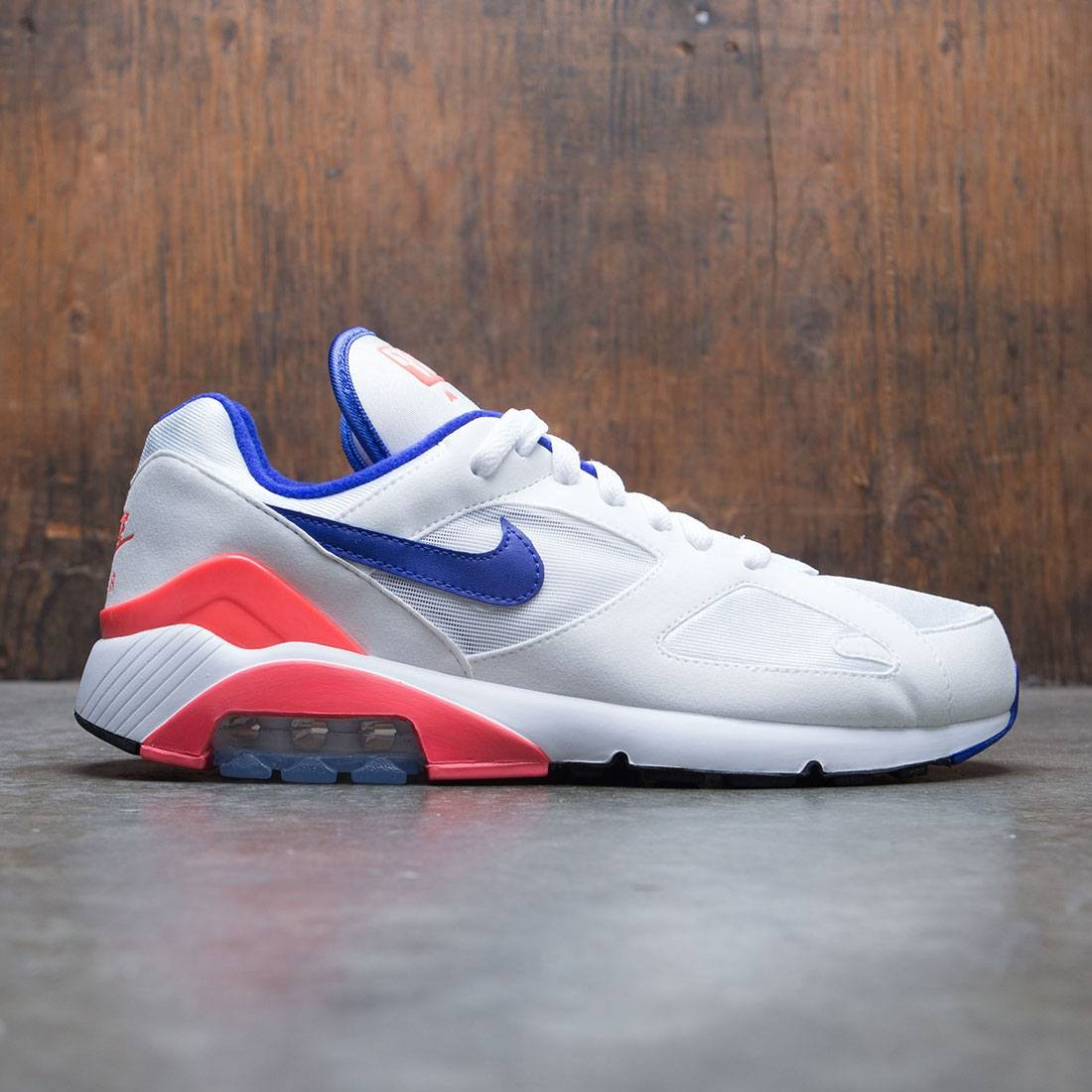 Nike Men Air Max 180 (white ultramarine solar red)