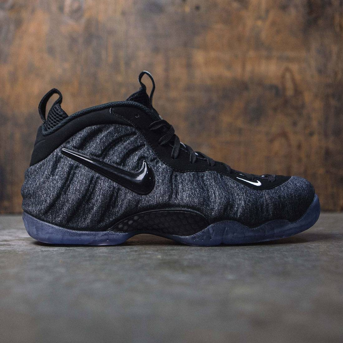 7ff456855c3f6 nike men air foamposite pro dk grey heather black black