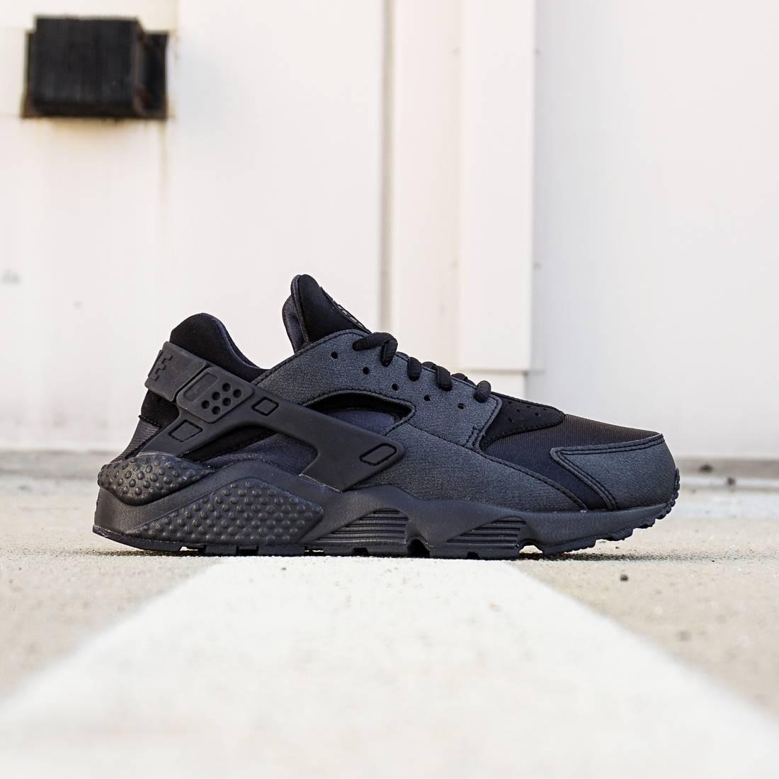 Nike Women Air Huarache Run black black