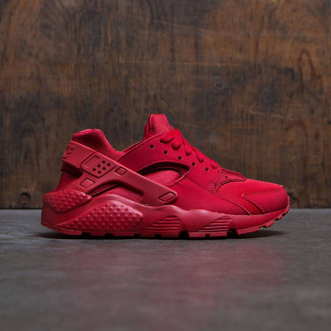 online store 31ee5 5ae8e nike big kids nike huarache run gs university red university