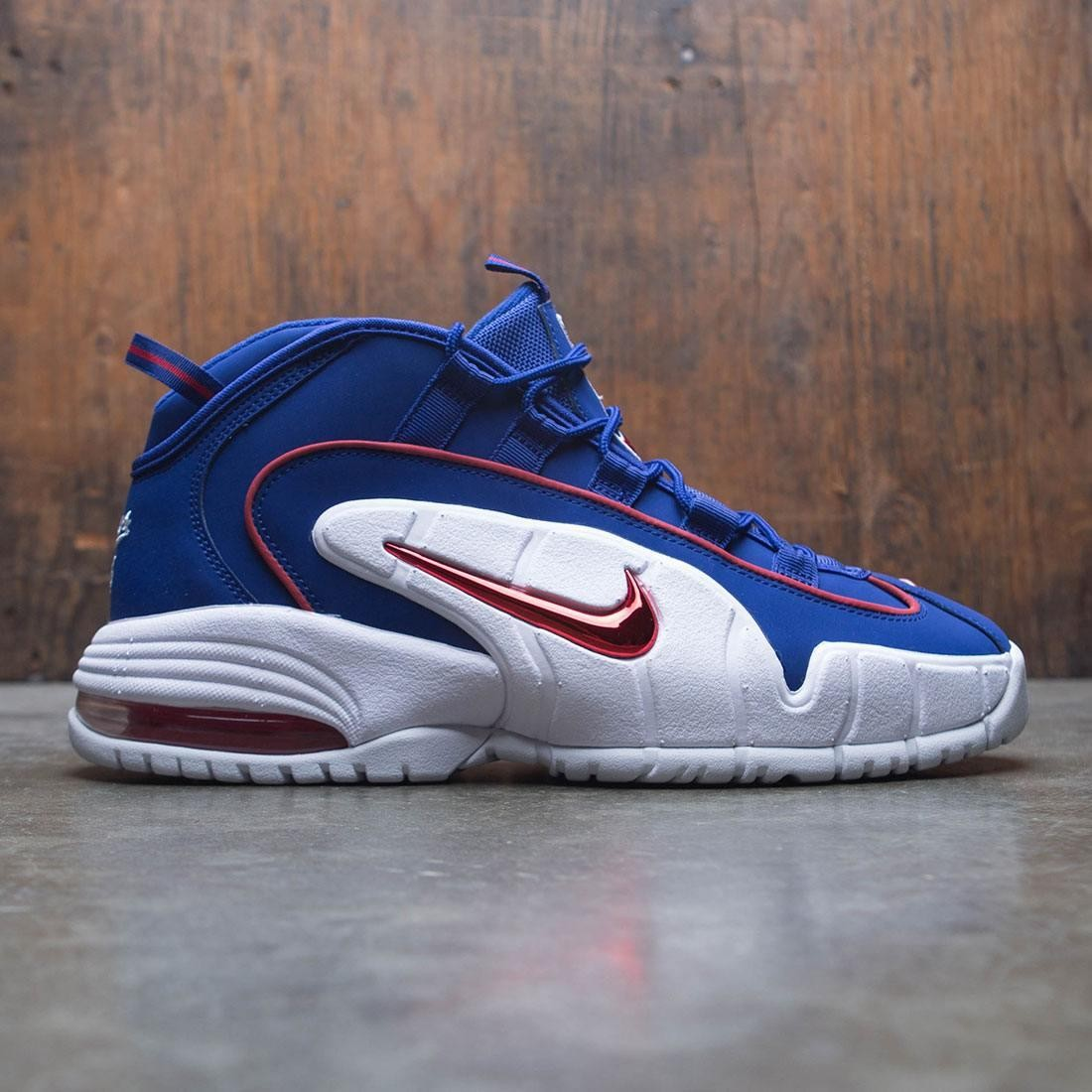6d3219bbc1e ... coupon code for nike men air max penny deep royal blue gym red white  3ecfa c9d96