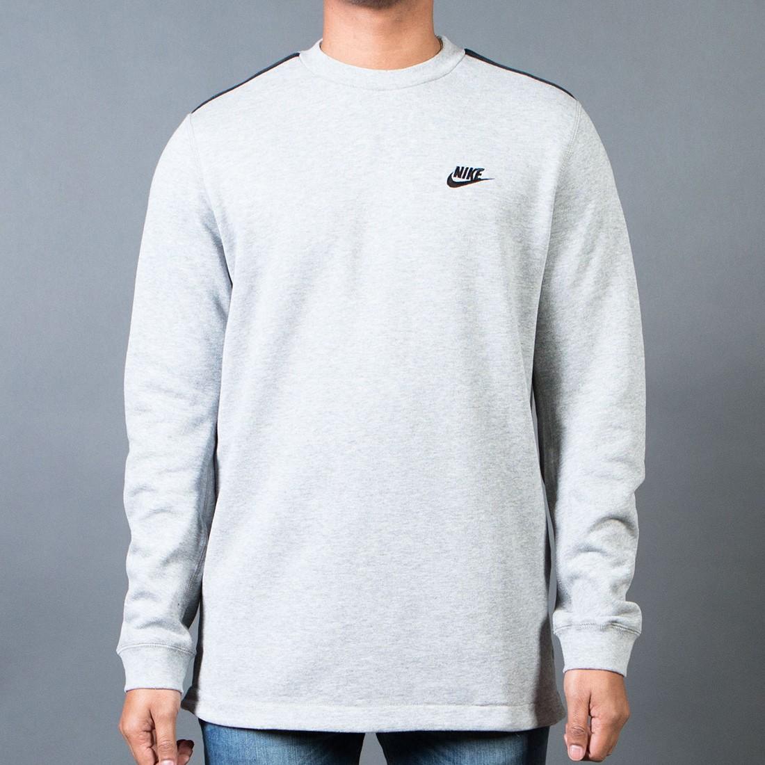 gastar patrimonio demanda  Nike Men Modern Crewneck (grey / dk grey heather / black)