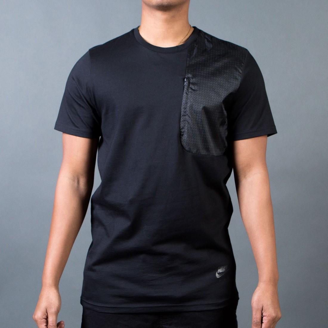 Nike Men Hybrid Tee (black)