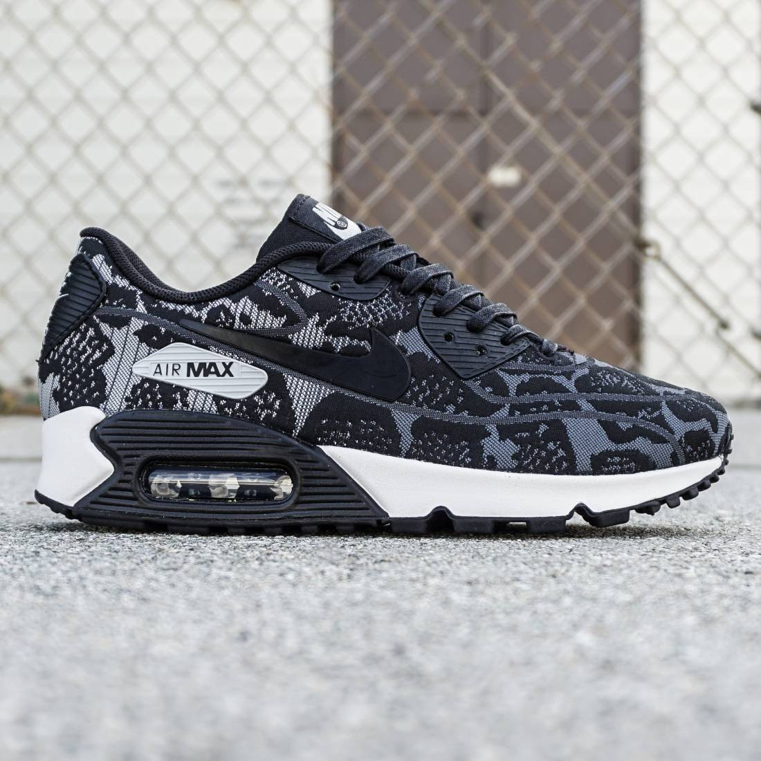 the best attitude 201ea 48a8c Nike Women Air Max 90 JCRD (gray / black / pure platinum / summit white)