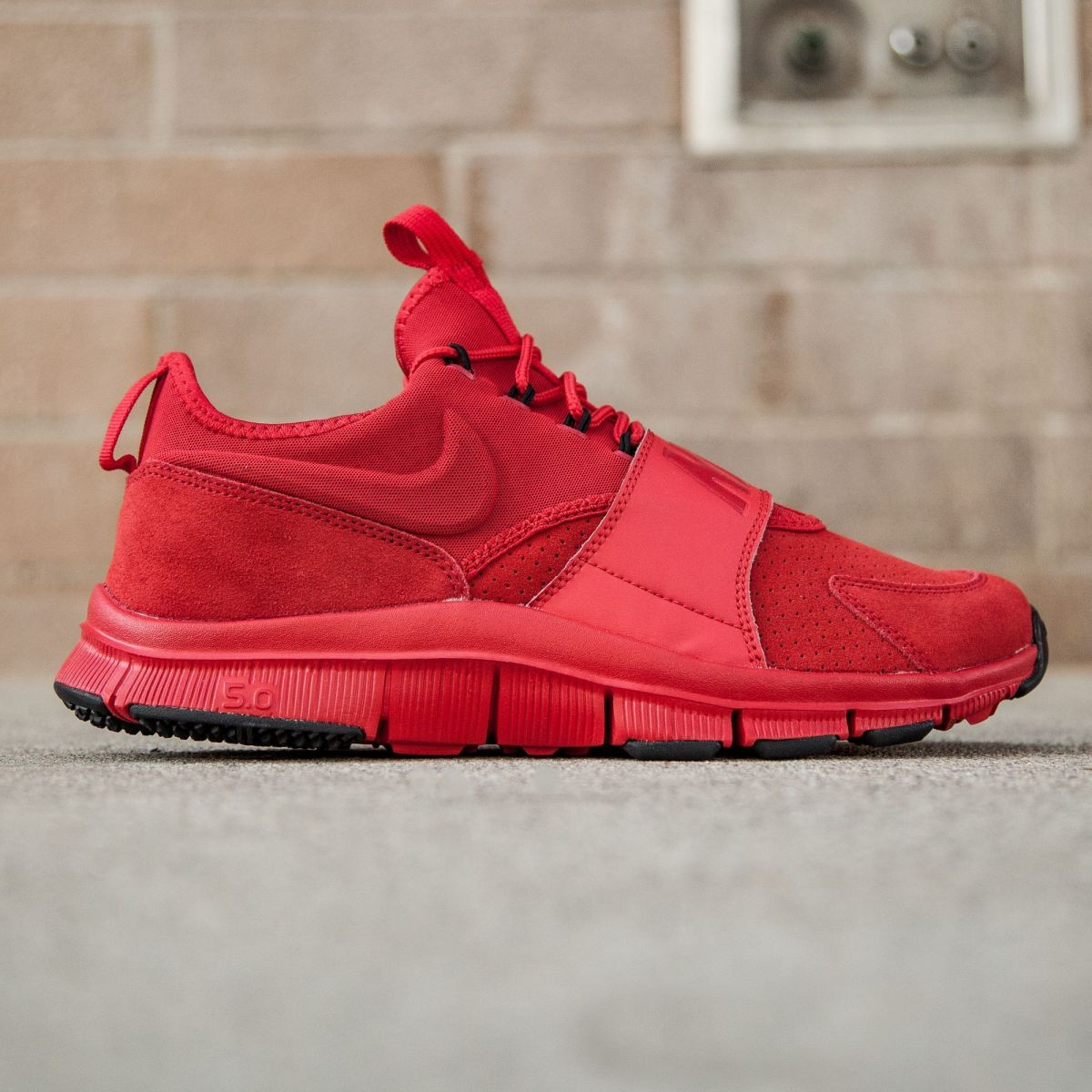 Nike Men Free Ace LTHR (red / university red / black)
