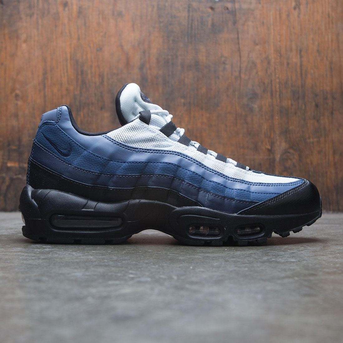 ca71be0e5b5f nike men air max 95 essential black obsidian navy blue pure platinum