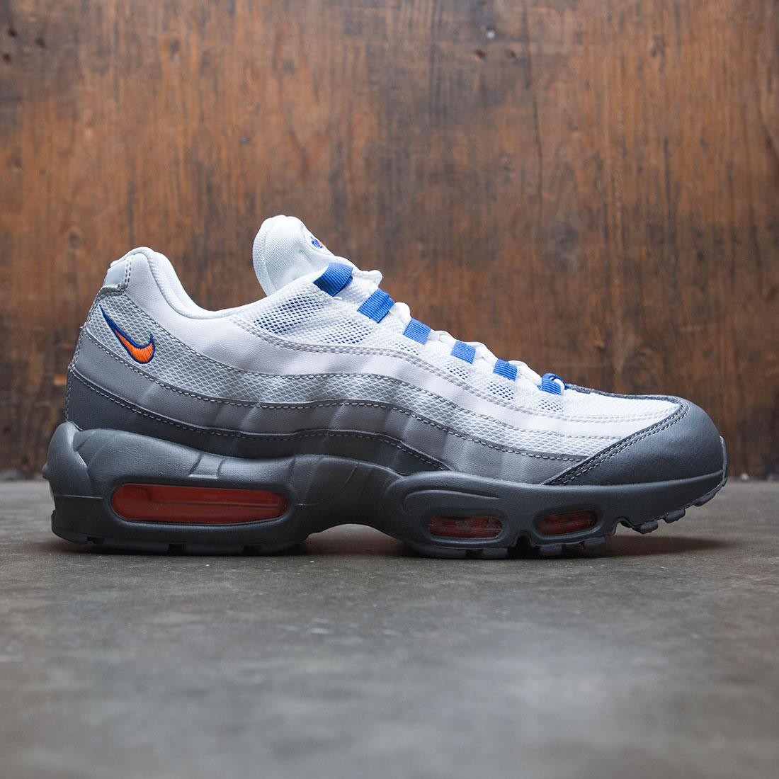 Nike Men Air Max 95 Essential Cool Grey Total Orange White