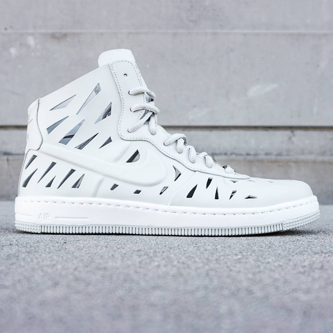 reputable site 8bc9b e4614 Nike Women Air Force 1 Ultra Force Mid Joli QS white light bone