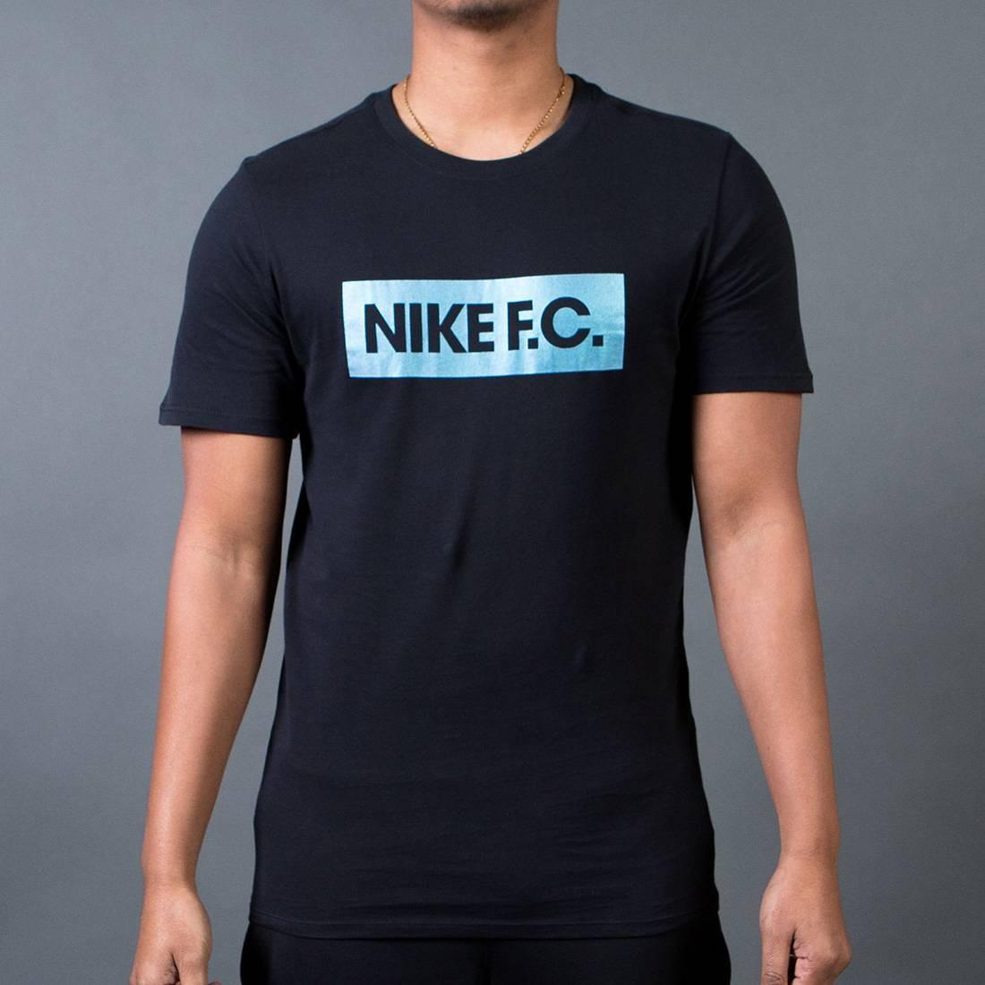 Nike Men F.C. Color Shift Block T-Shirt (black / black)