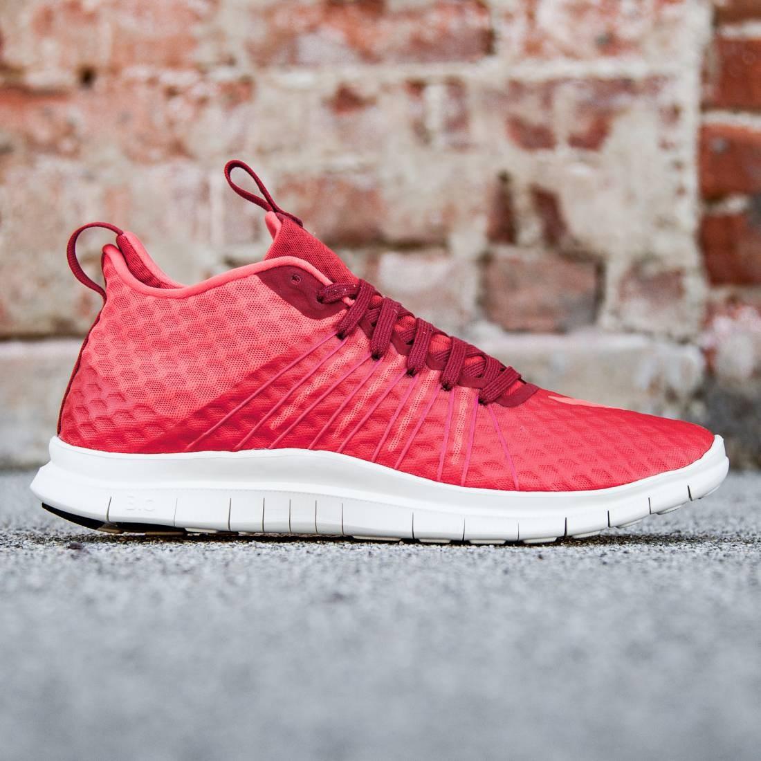 Nike Men Free Hypervenom 2 FS (red / gym red / light crimson / ivory)