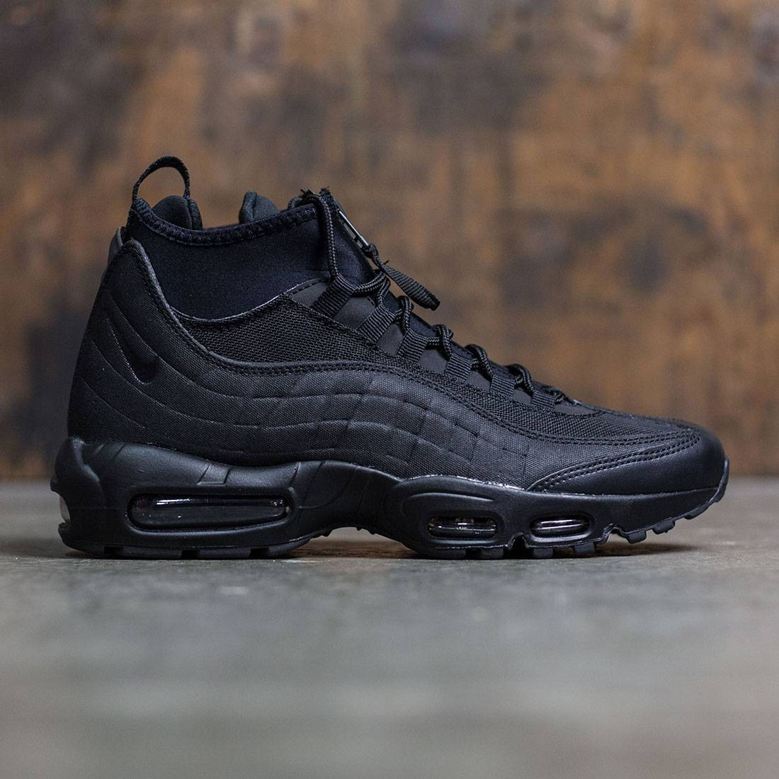check out 6a7b6 71a8d Nike Men Air Max 95 Sneakerboot (black / black)